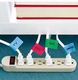 Easy identification! Never will pull the wrong plug again~