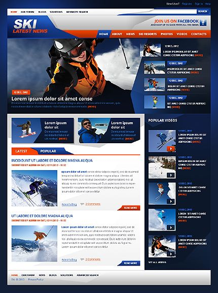 All The Latest News About Ski Skiing And Ski Resorts Great For