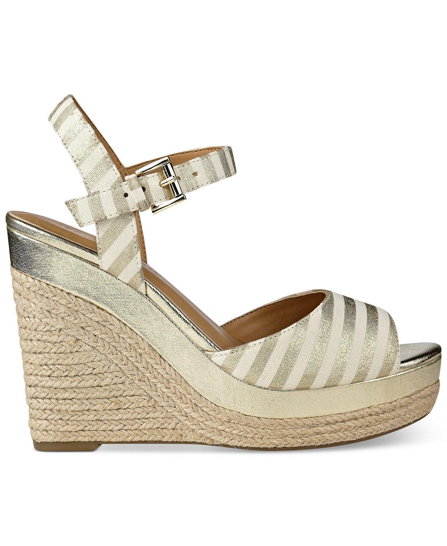 0084da57 Tommy Hilfiger Kali Platform Espadrille Wedge Sandals | macys.com ...