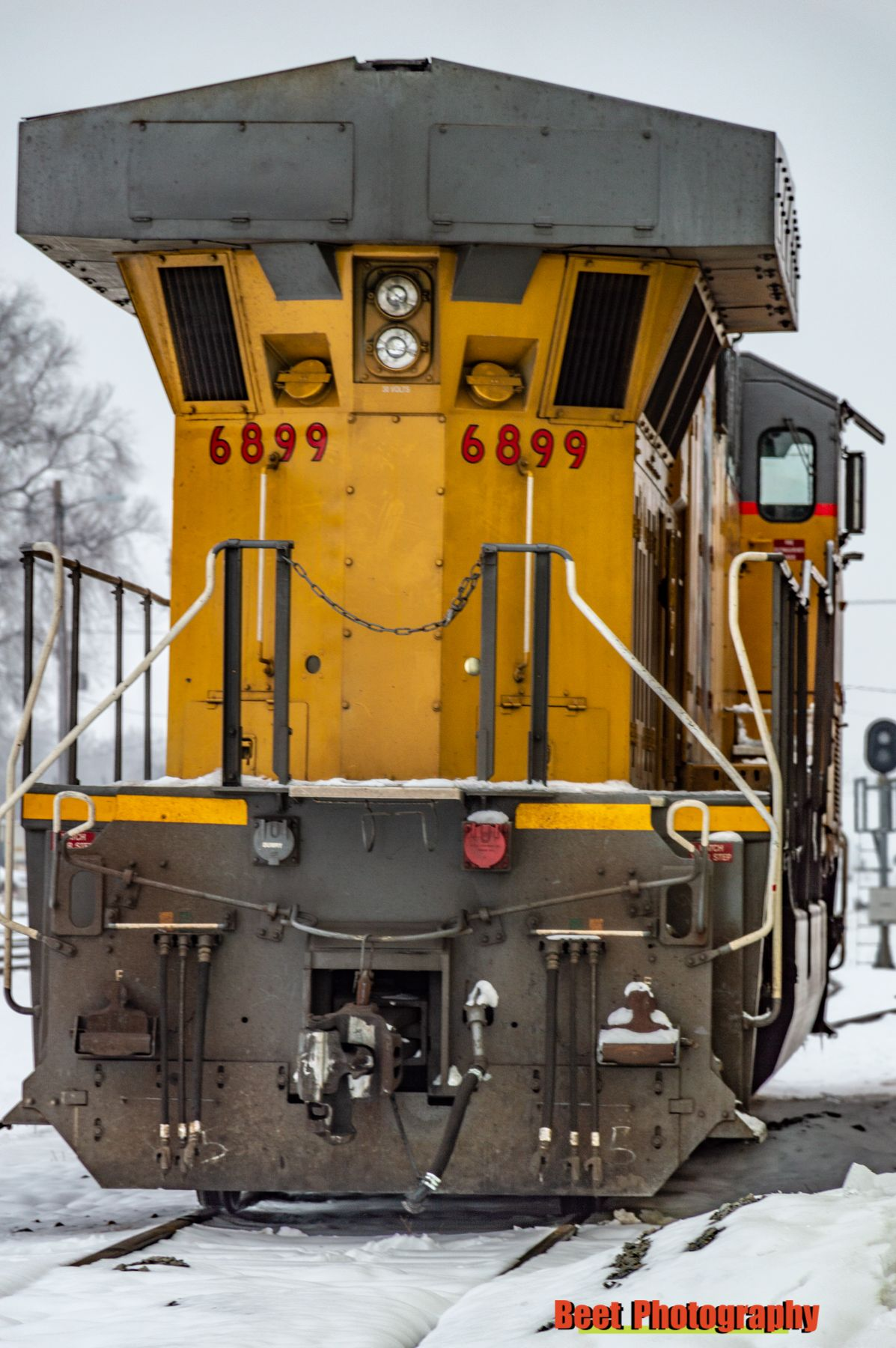 Train Engine Rear Train Photography Train Pictures Railroad Photography