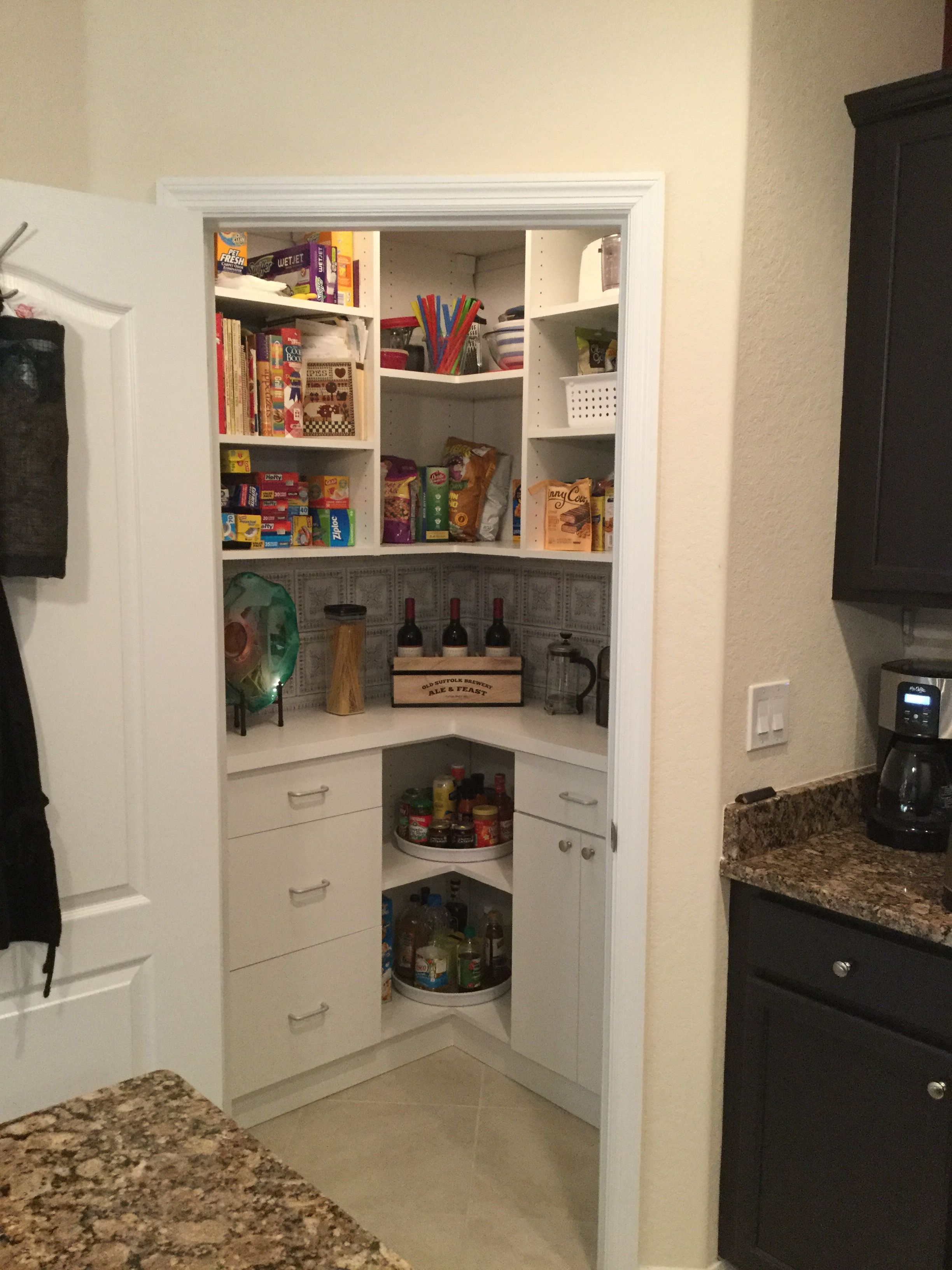 My Very Own, Awesome, Perfect, Amazing Custom Pantry. Thank You CA Closets    I Love It! I Couldnu0027t Fit The Whole L Shaped Pantry In The Shot Because  Of The ...