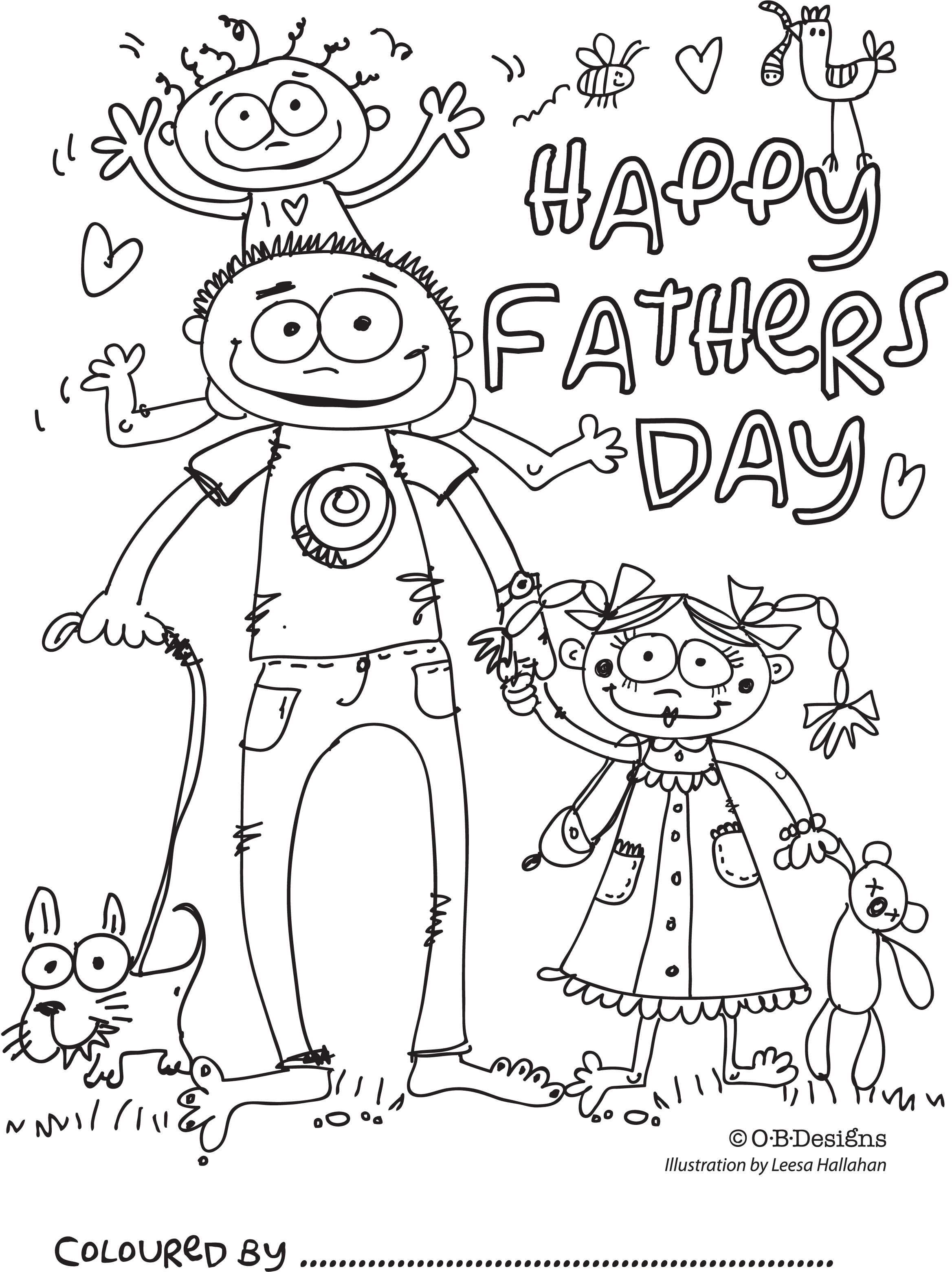 Printable Fathers Day Coloring Pages Ideas Free Coloring Sheets Fathers Day Coloring Page Happy Fathers Day Cards Father S Day Drawings