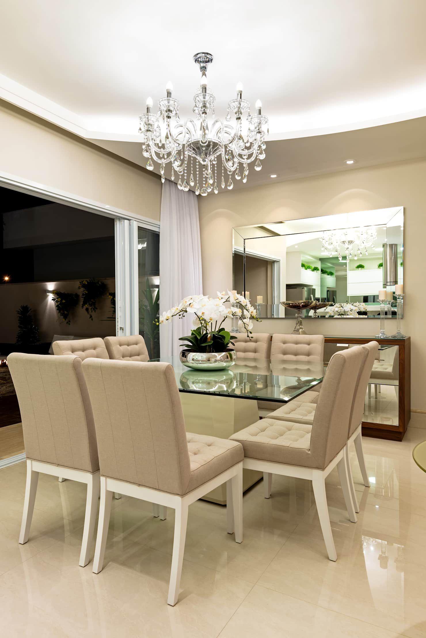 Casa Villa Salas De Jantar Modernas Por Designer De Interiores E