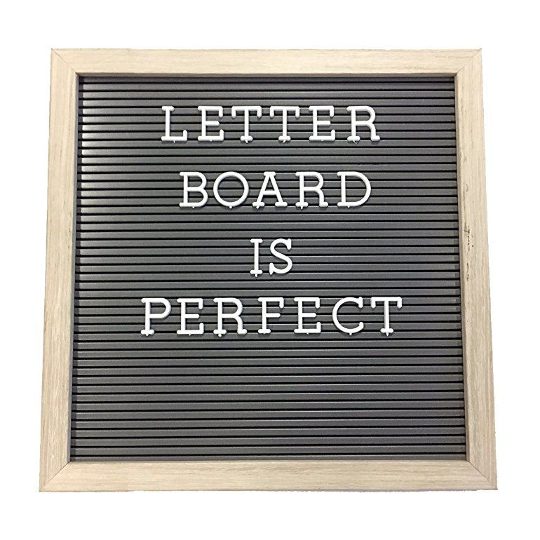 Plastic Letter Board With 1 Inch Letters 188 Characters Include