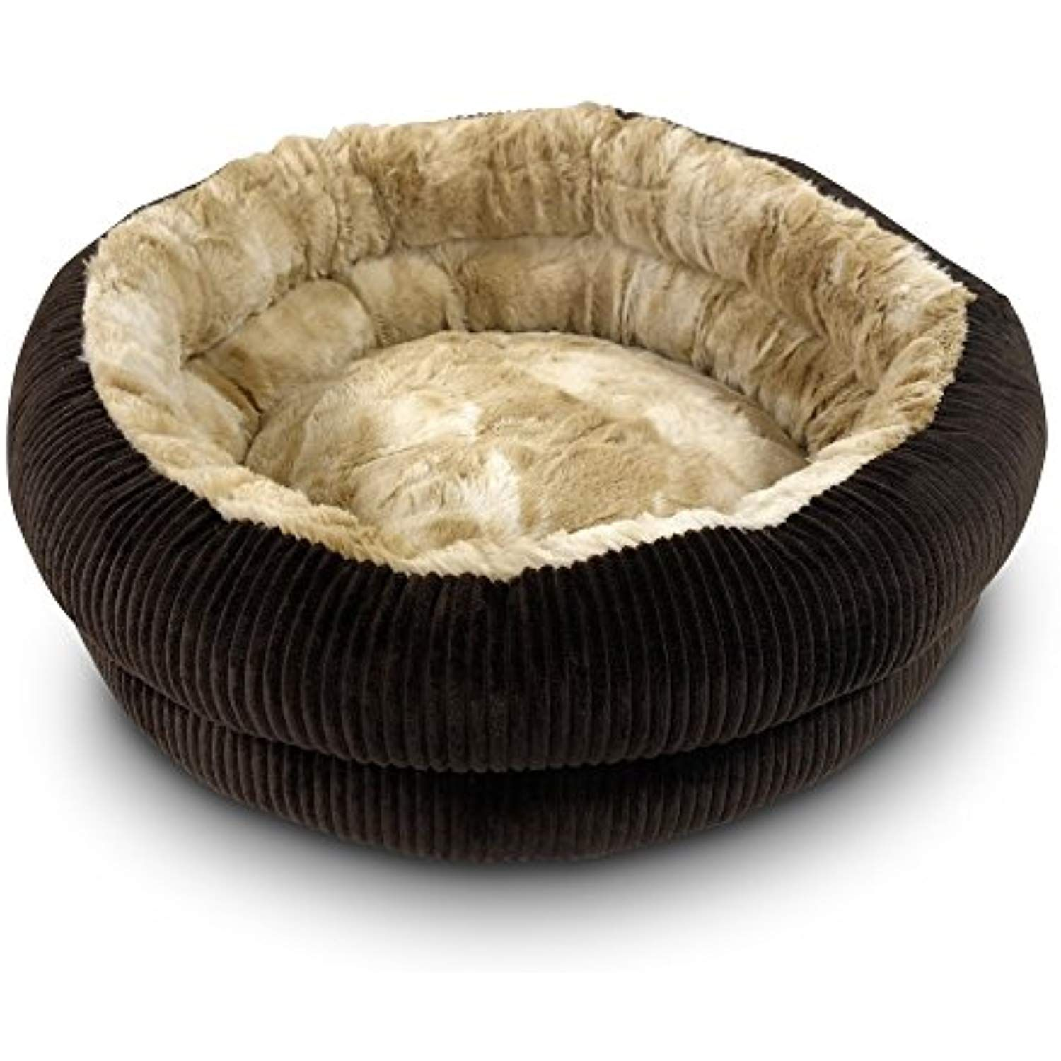 Pet Craft Supply Premier Hideout Plush Cat Bed >>> You can