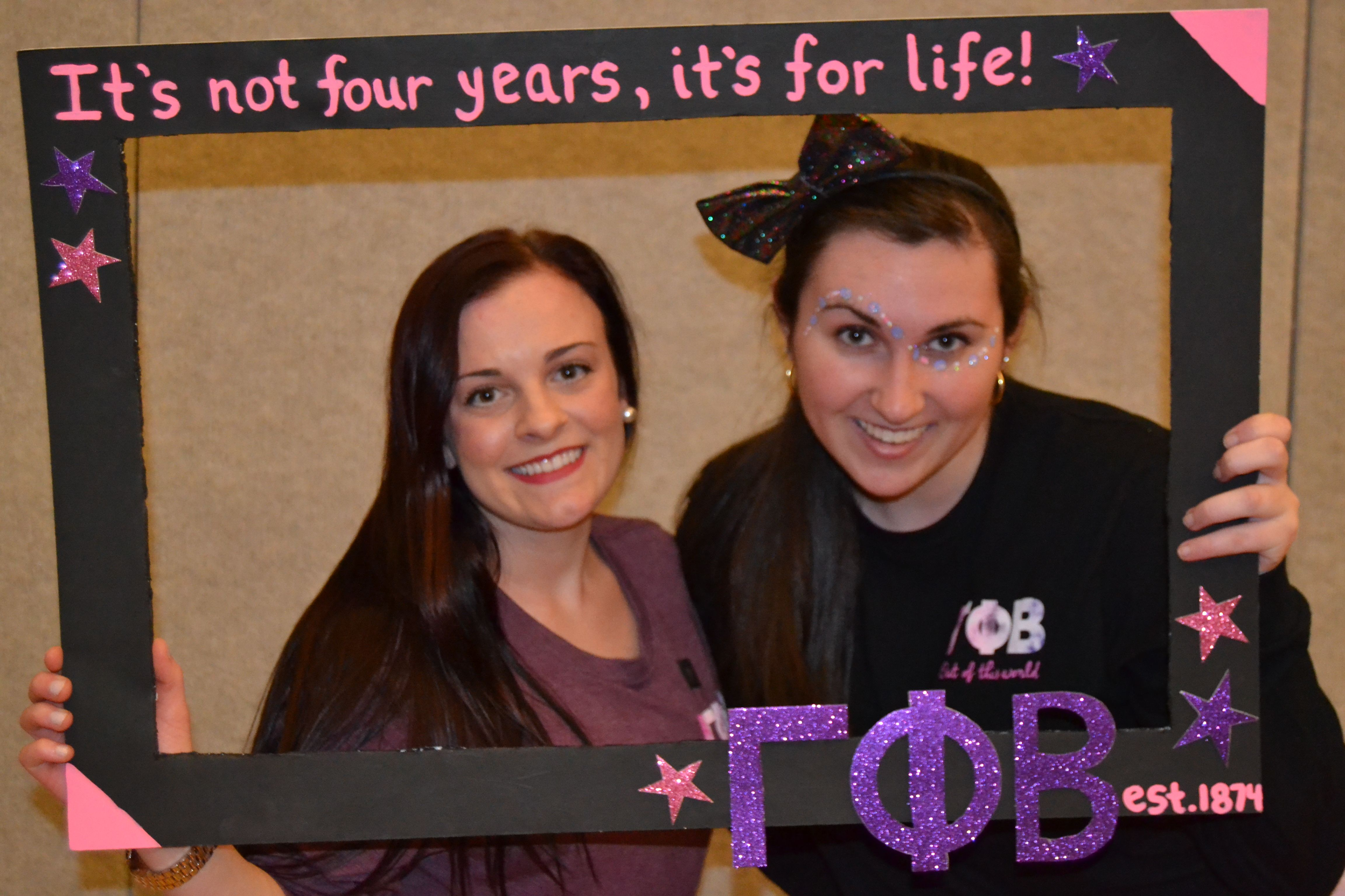 Gamma Phi Beta - Bid Day 2015   Out Of This World