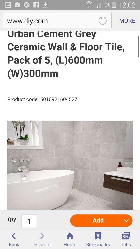 B And Q Urban Cement  Bathroom  Pinterest  Cement Extraordinary B And Q Bathroom Design Design Inspiration