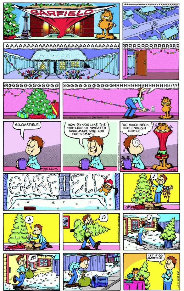 Pin On Favorite Garfield Holiday Comics