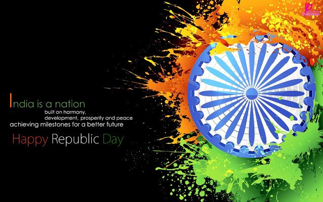 Happy republic day wallpaper 26 jan republic day of india greetings happy republic day wallpaper 26 jan republic day of india greetings message picture card 26 january m4hsunfo Image collections