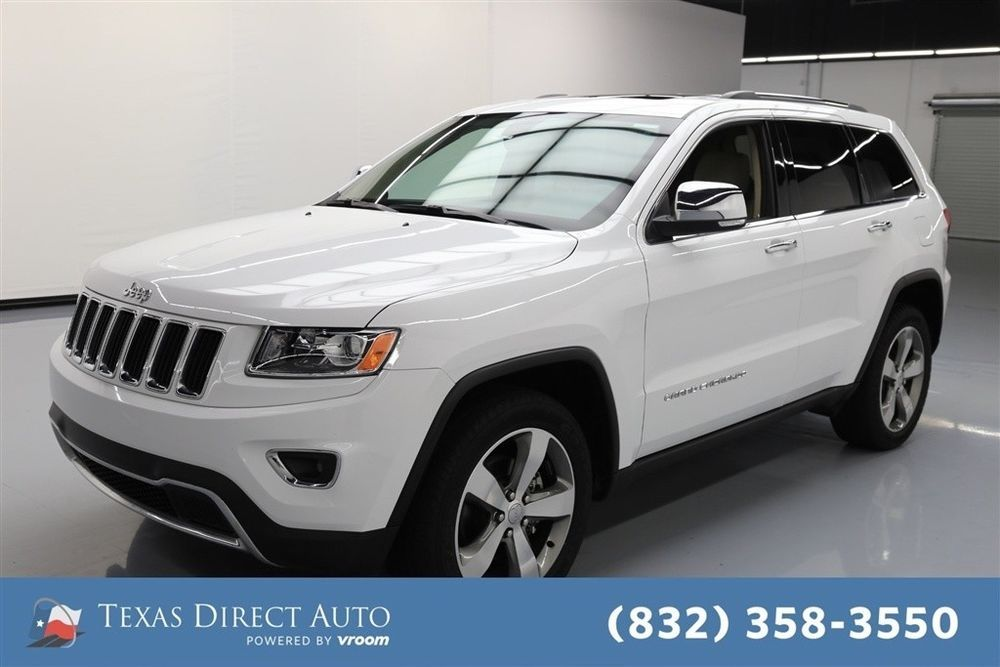 Jeep Grand Cherokee Limited Texas Direct Auto 2015 Limited Used