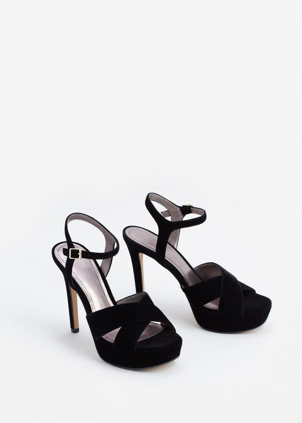 Cérémonie D'ouverture Paillettes Chaussures Plates - Noir aarrr5p