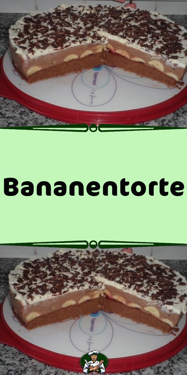 Bananentorte In 2020 Bananentorte Kuchen Und Torten Torten