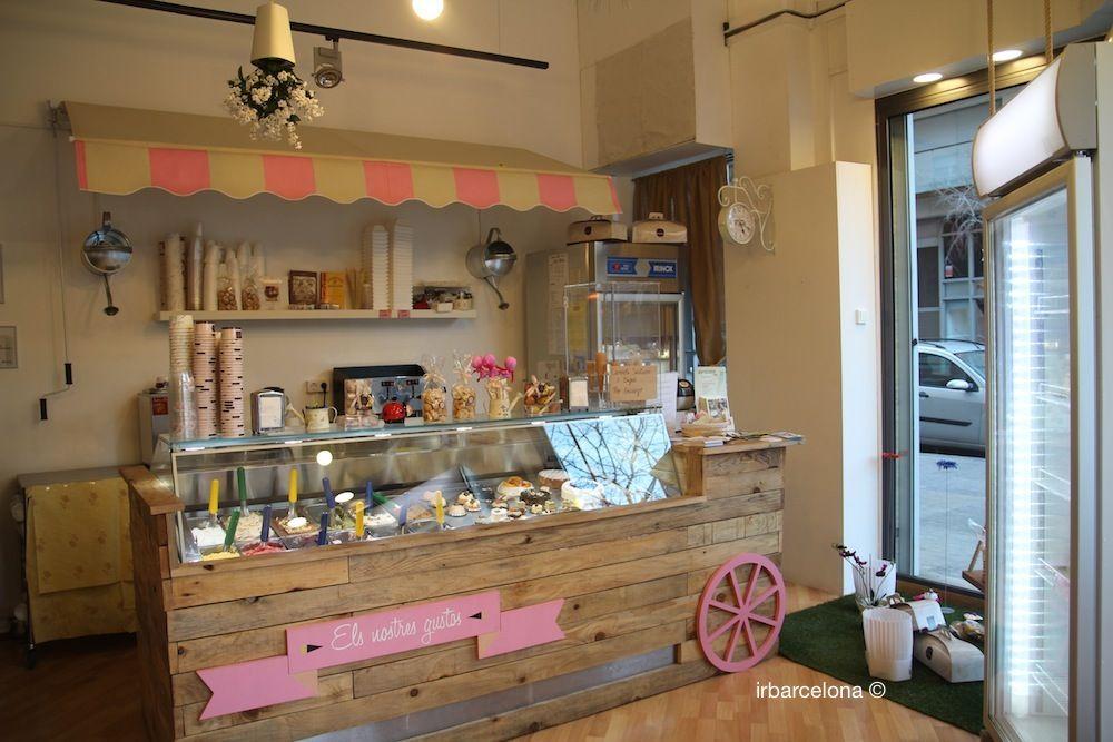 Heladeria local peque o google search little business - Decoracion de helados ...