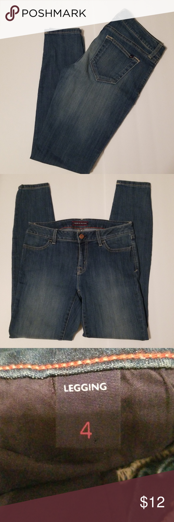 cf6e520d Womens Tommy Hilfiger Jeans No signs of wear, the care tag has been cut out Tommy  Hilfiger Jeans Skinny