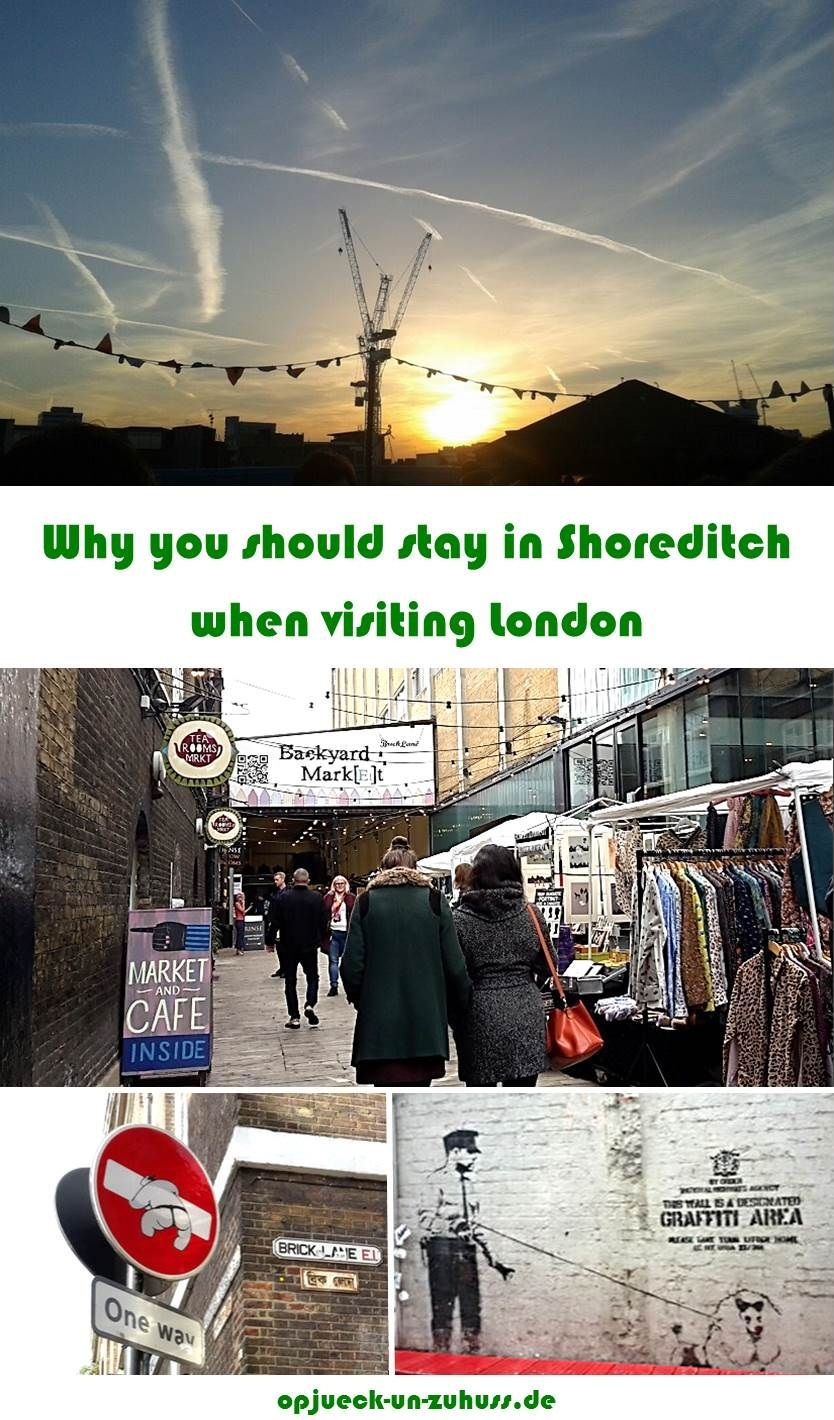 London Map Shoreditch Area: Shoreditch London Area Guide