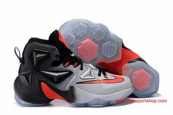 7024b0f4e79d Nike LeBron XIII The Ohio State University at Columbus Black Grey ...