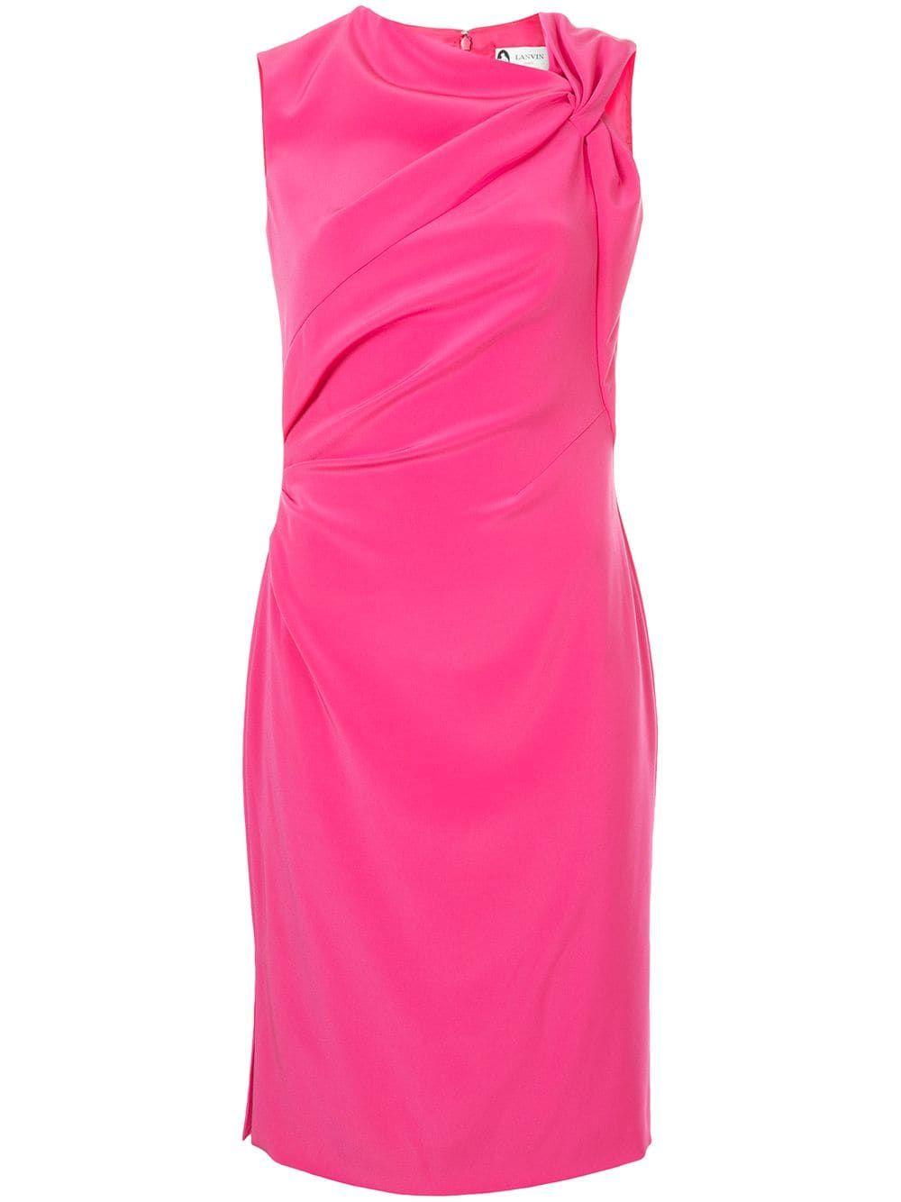 40a1a3b10d9 Lanvin fitted mid-length dress - Pink One Shoulder, Shoulder Dress, Dresses,