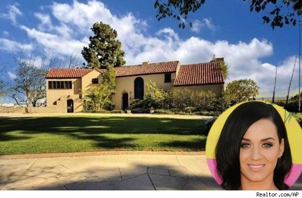 Katy Perry Lists L A Manse She Never Lived In With Russell Brand