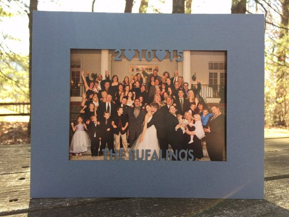 family custom photo matting family name and by woodbeelove new