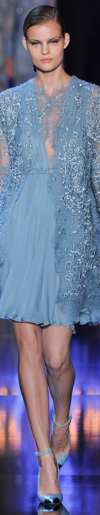 Elie Saab - Fall 2014 Ready-to-Wear {Pin via James Mitchell, Repin by Marguerite Burrill}