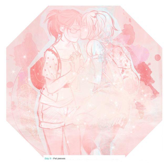 """""""kiyoyachi~"""" by pastelyachi ❤ liked on Polyvore featuring art"""