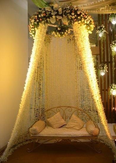 Decor Ideas For Haldi Mehendi Ceremony Wedding Stage Decorations