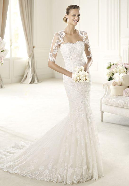 Buy Wedding Dress Pronovias Urda 2013 At Cheap Price