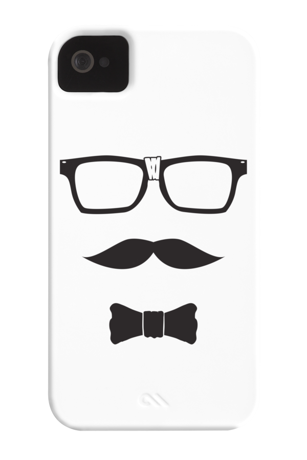 imnerd Phone Case for iPhone 4/4s,5/5s/5c, iPod Touch