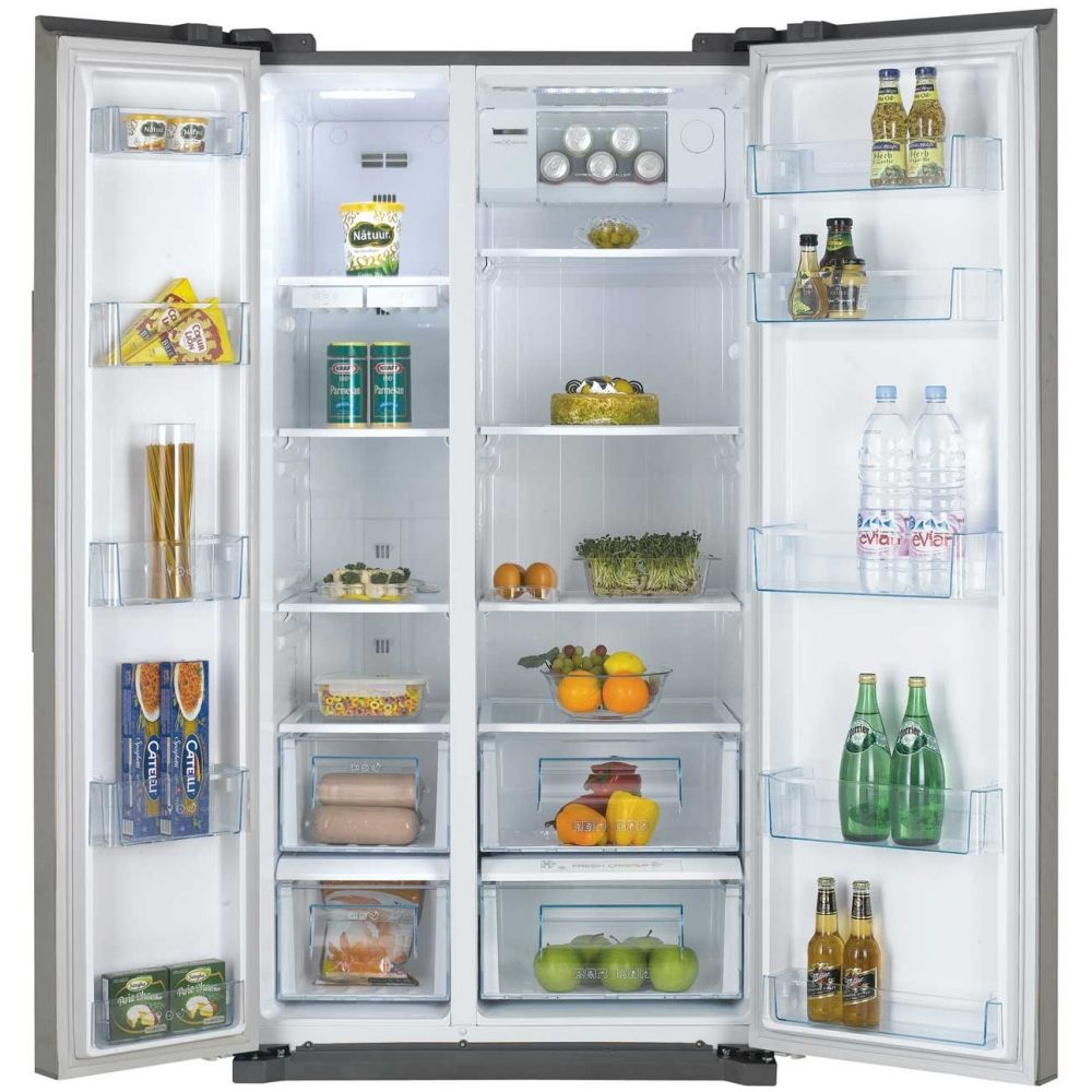 Daewoo American Style Fridge Freezer Non Ice & Water | Freezer and