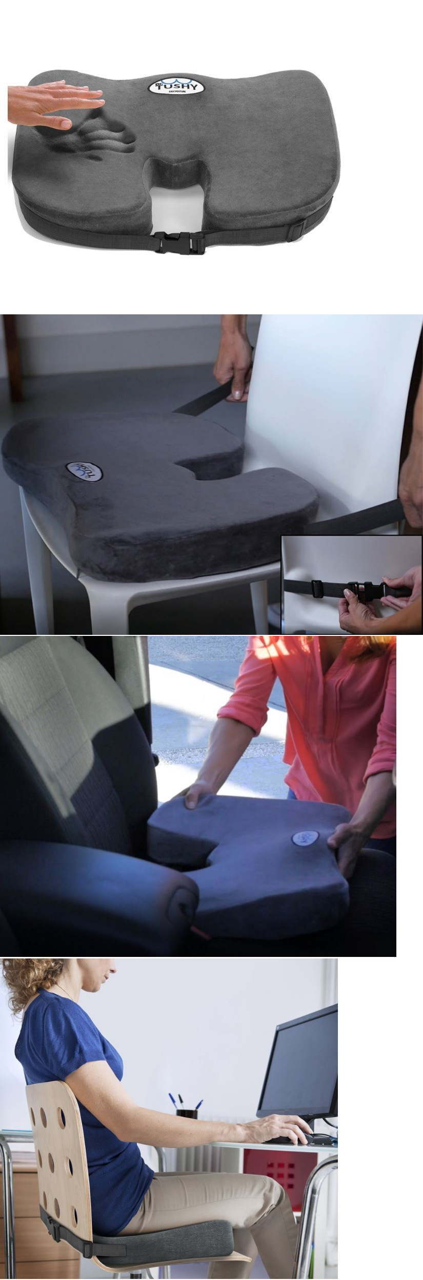 Seat and posture cushions truck driver seat cushion sciatica