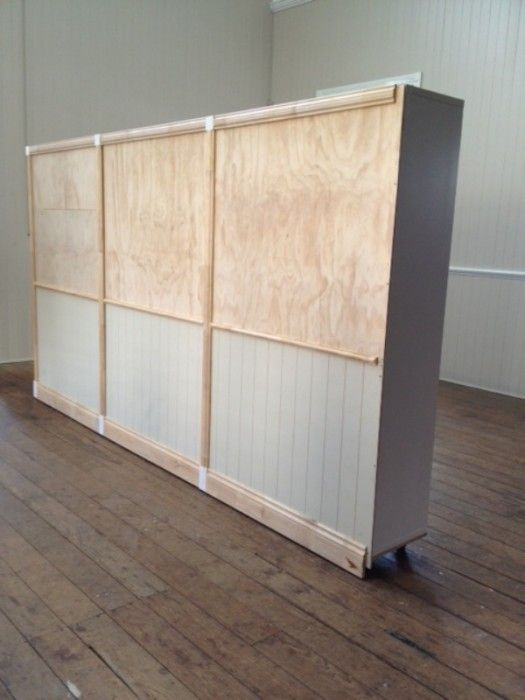 Best goes back in time a vintage style room divider for Partition wall ikea