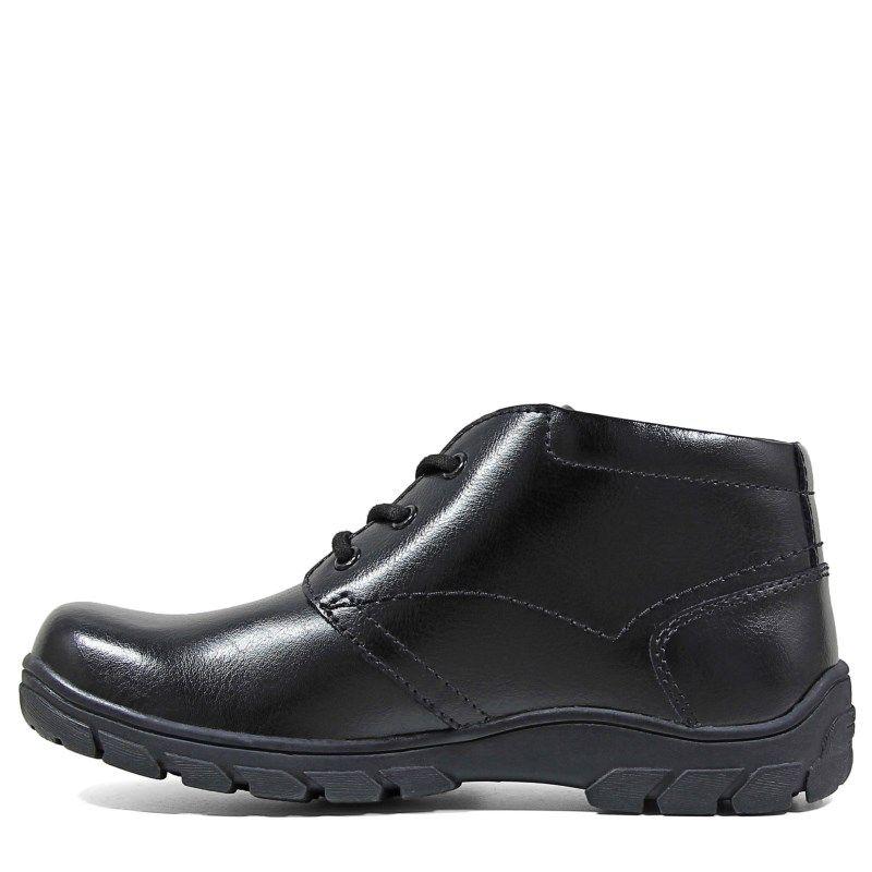 Florsheim Kids' Getaway Chukka Boot Jr Pre/Grade School Boots (Black Leather )