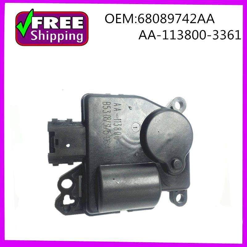 High Quality Hvac Blend Door Actuator Oem 68089742aa Aa 113800 3361 Replacement Parts Hvac High Quality