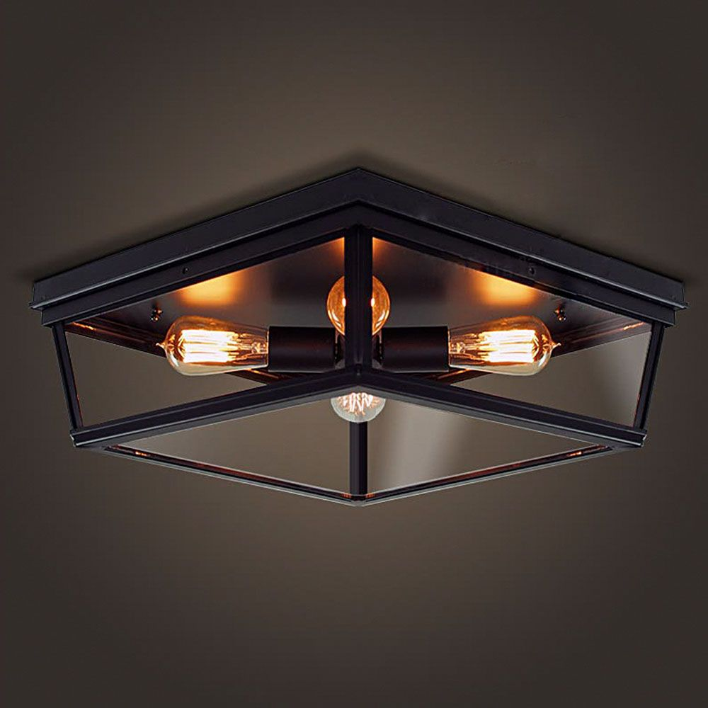 Goedkope Nordic Retro Led Plafondlamp Lamp Slaapkamer