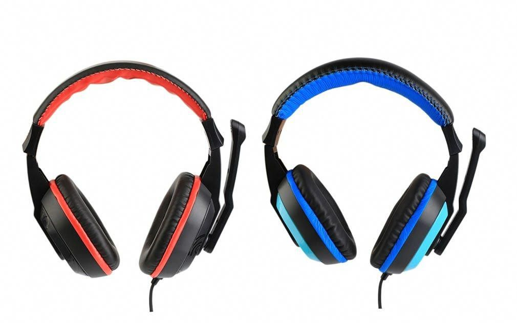 Black Blue PS4 Gaming Headset Headphone,A9 Over Ear Setero PC Gaming Headset with Microphone,Noise Canceling 3.5mm Jack for PS4 New Xbox One//Mac//PC//Computer