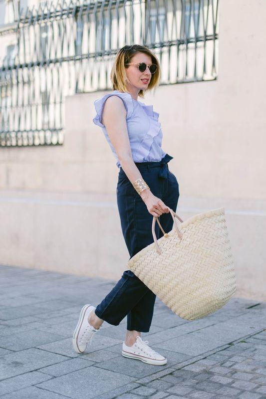 Côté accessoires @Styl_iz a elle aussi succombé à la folie des paniers tressés pour l'été ! Avec ici un modèle à 12€ chez BABOU