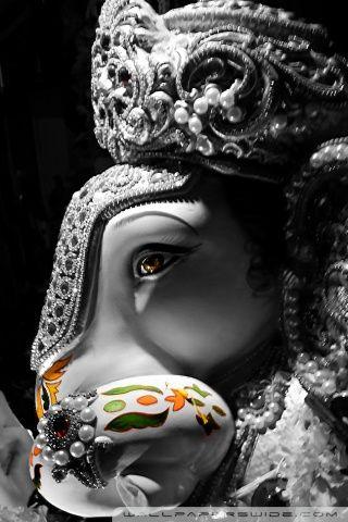 Ganpati Bappa Hd Desktop Wallpaper Mobile God Pinterest