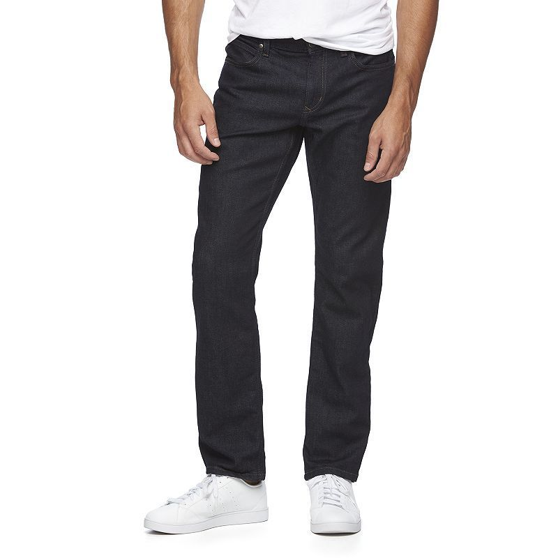Men's Marc Anthony Slim-Straight Jeans, Size: 32X30, Dark Blue
