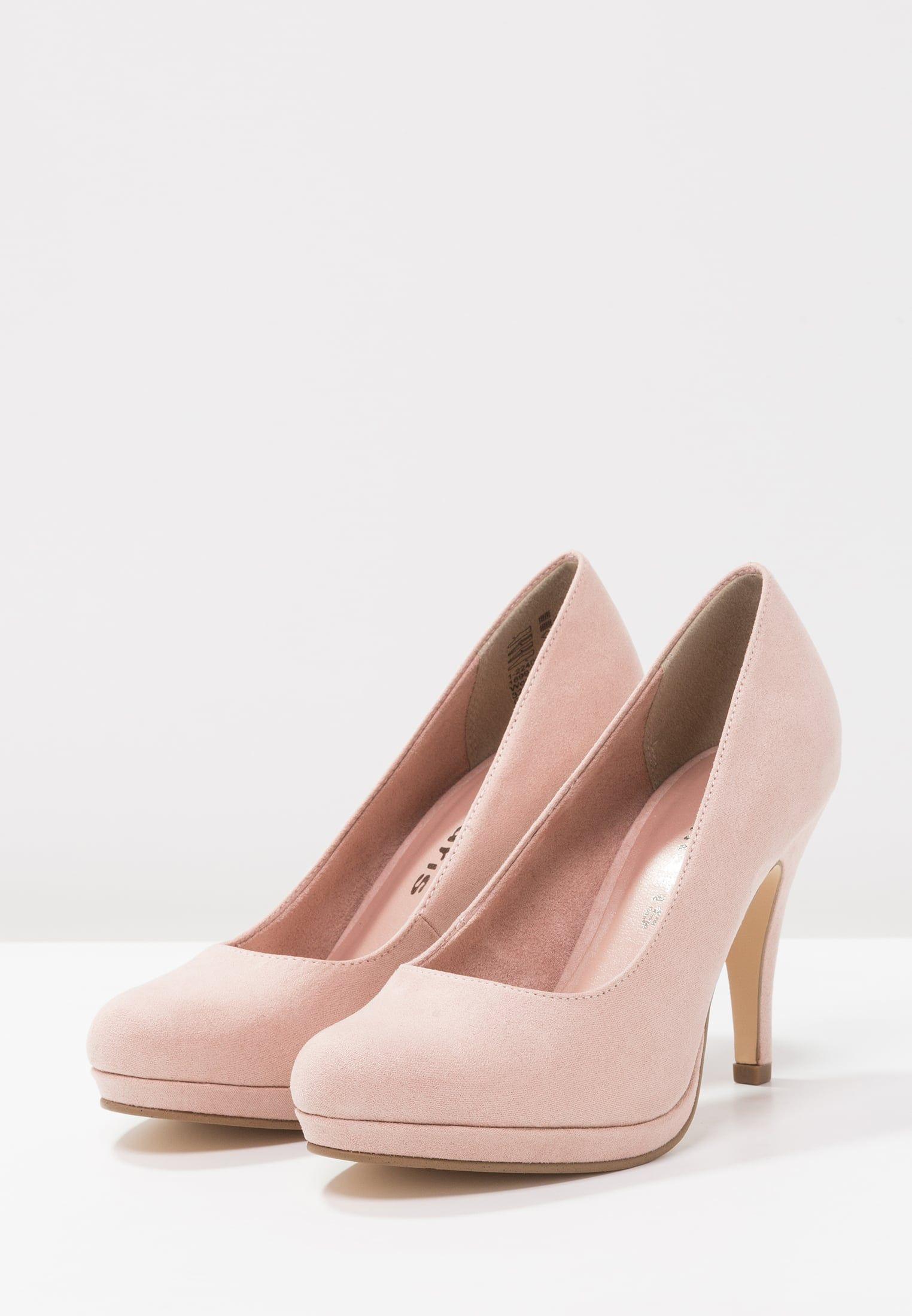 75901595e2cc46 Tamaris Escarpins - rose - ZALANDO.FR | Mariage Chaussures ...