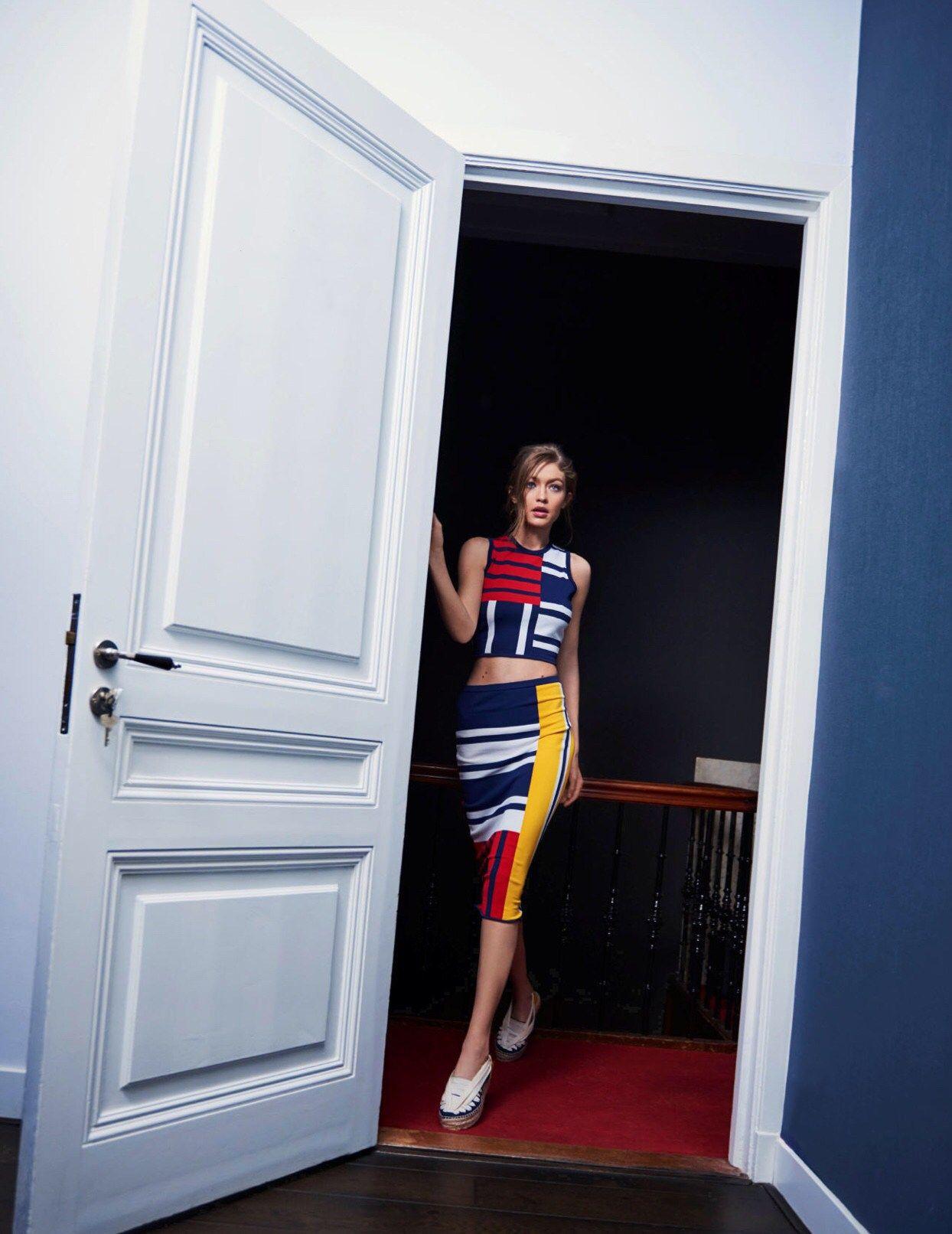 Gigi Hadid Vogue Netherlands May 2017