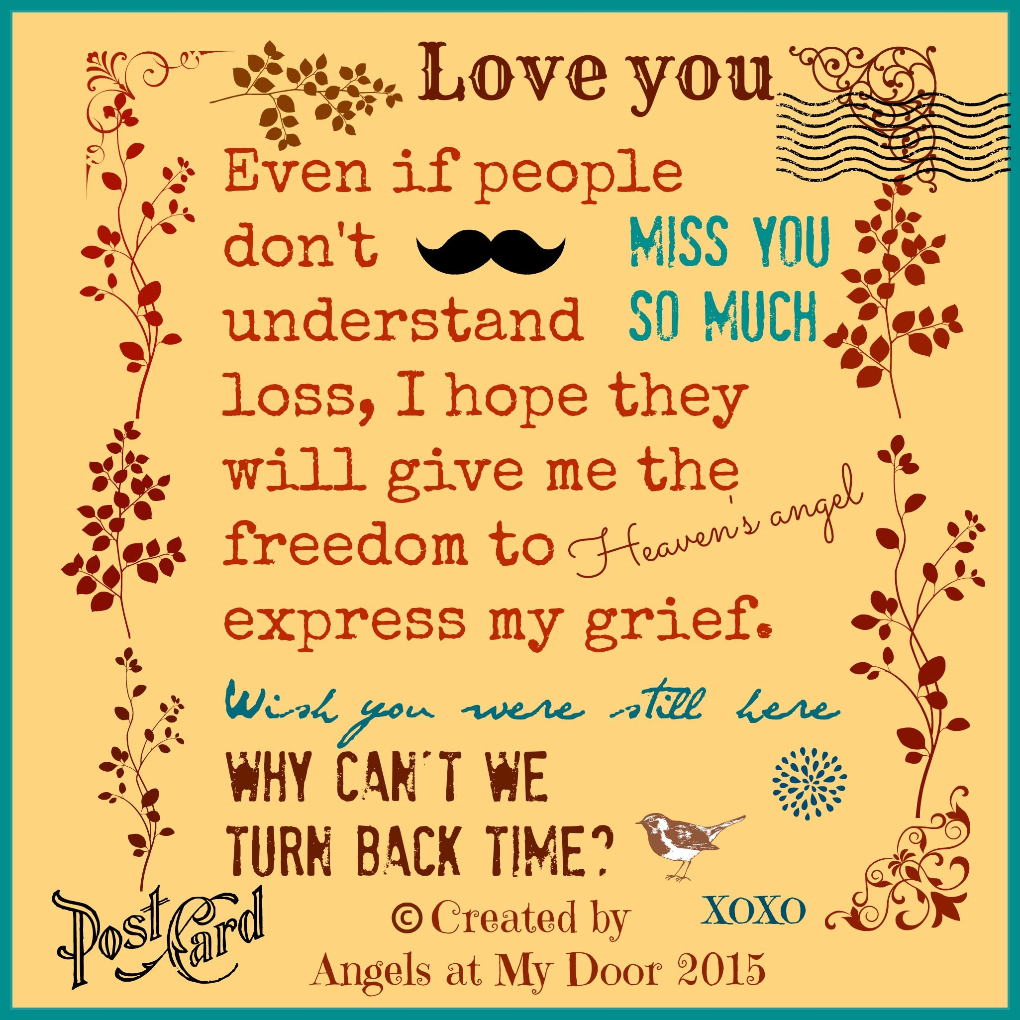 Love You~Created by Angels at My Door on Facebook