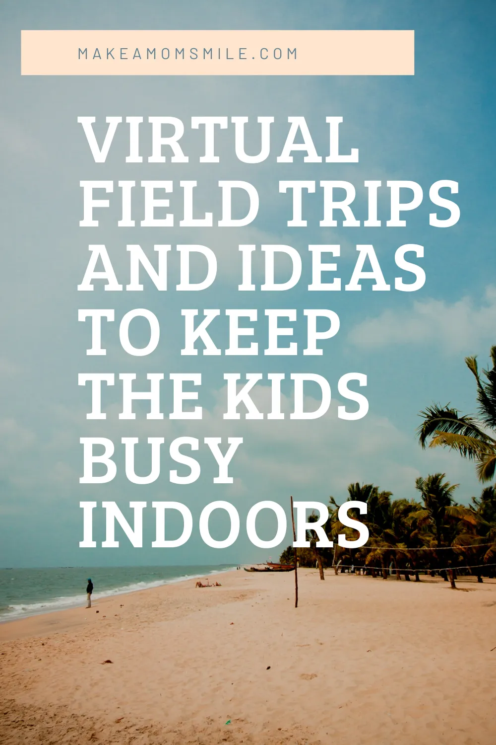 Virtual Field Trips & Ideas to Keep Kids Busy Indoors