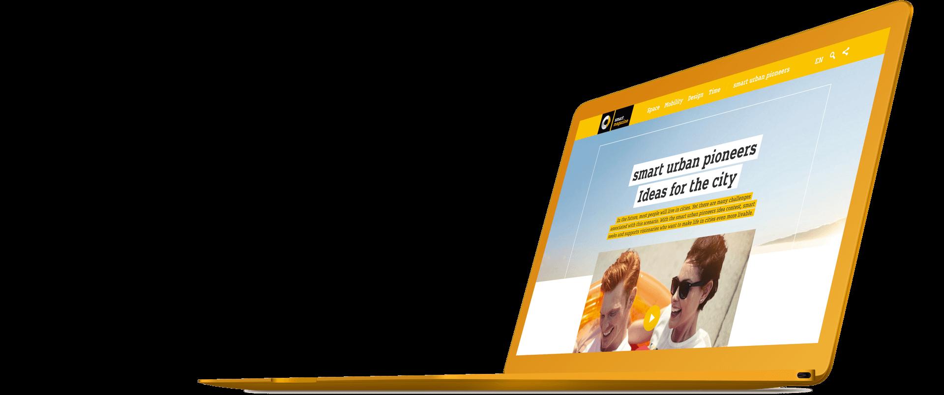 Urban Content Marketing: Internationaler Relaunch des Online-Magazins für den Automobilhersteller smart.