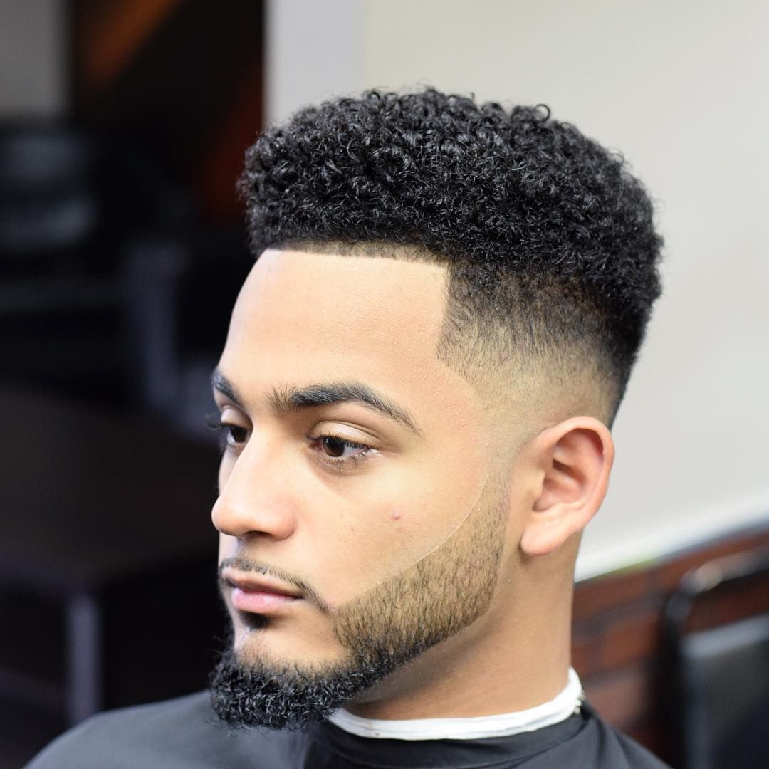 Top 30 Thrilling Curly Haircuts Hairstyle For Black Men 2019