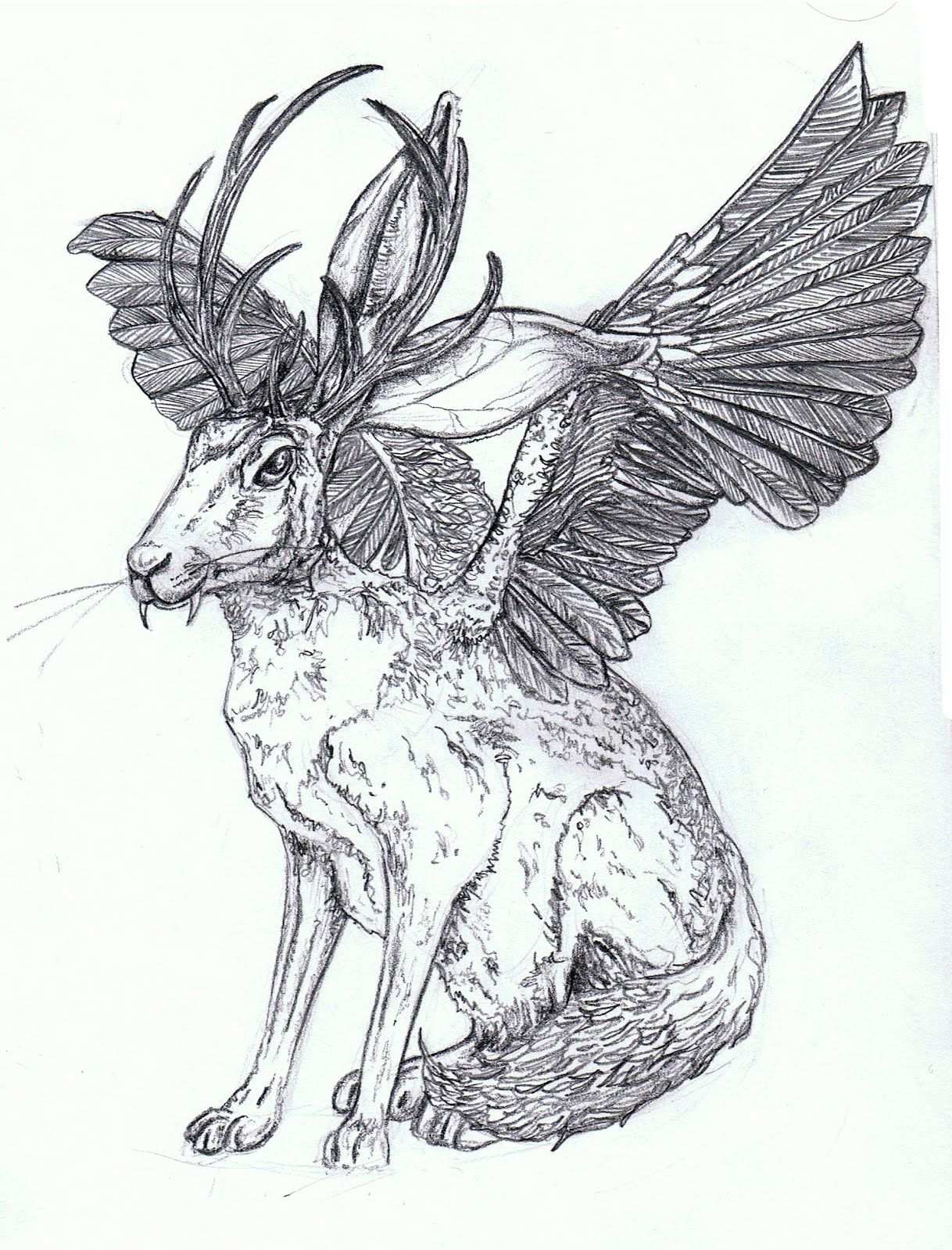 Wolpertinger- Bavarian folklore: a strange chimerical creature said ...