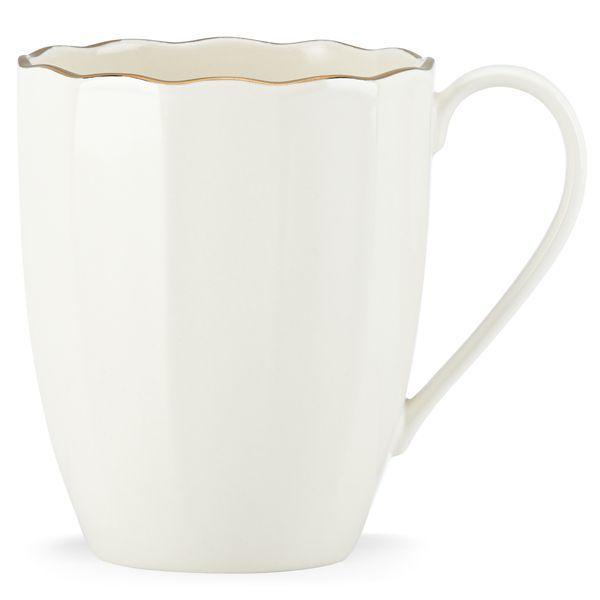 Marchesa Shades White Mug By Lenox