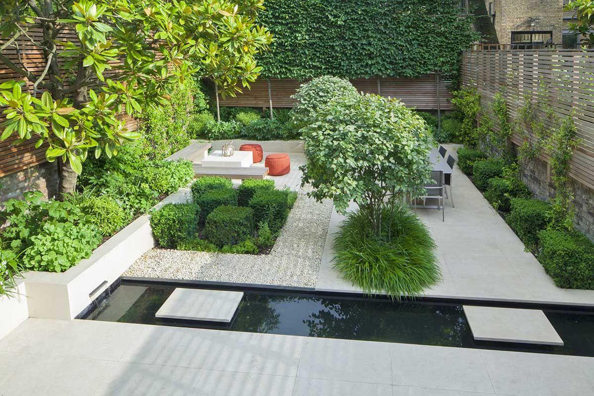 Contemporary Architectural Garden In Kensington West London Garden Design Pictures Modern Garden Design Garden On A Hill