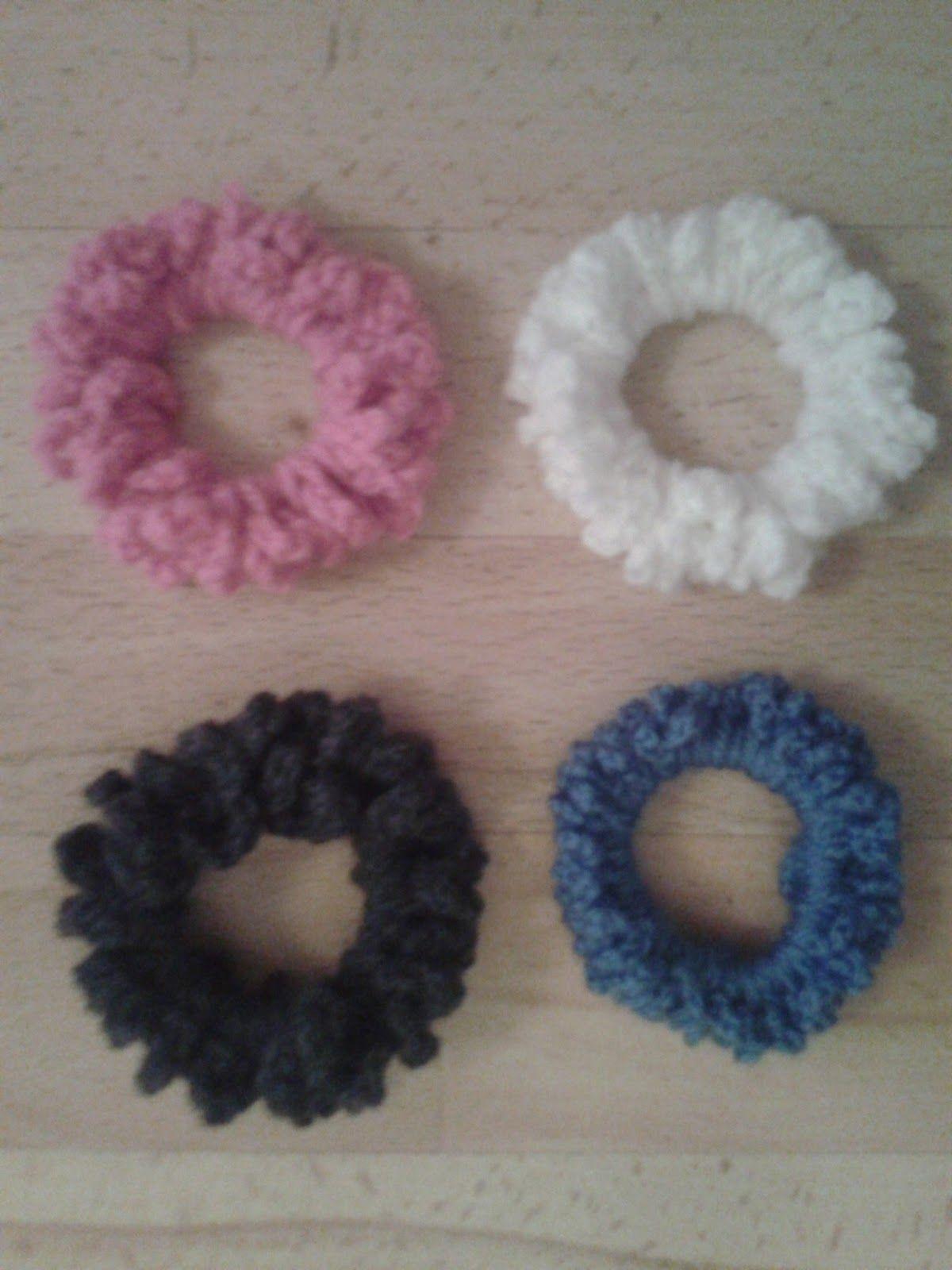 Hair Scrunchie (Free Pattern)   Crochet   Pinterest   Free pattern ...