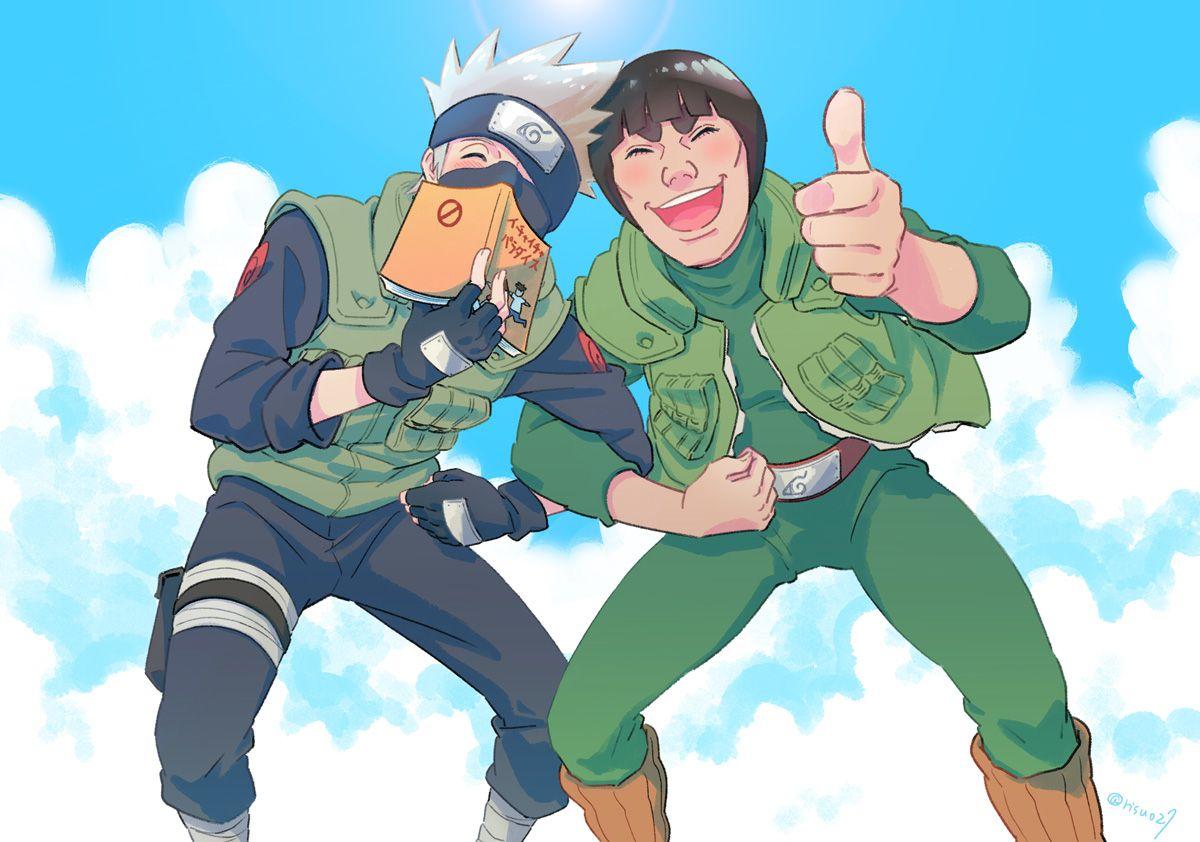 Hatake Kakashi & Might Gai/Guy ~ Eternal Rivals | Naruto