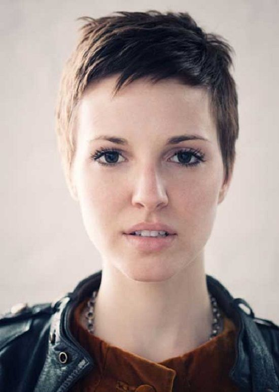 Extremely Short Haircuts For Girls Hairstyles Fans Pinterest